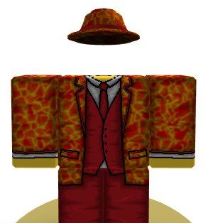 d4b6d11930 Also decided to make a suit for the Bombastic Fedora! Shirt: Tweet ...