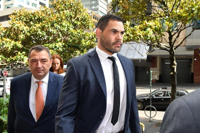 Greg Inglis has escaped conviction after pleading guilty to drink driving. Photo