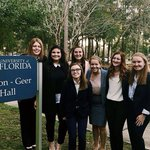 This weekend, the HPU mock trial team traveled to a competition at the @uflorida. This was the team's last invitational before regionals next month.  #HPU365 #MyMajorAtHPU #prelaw #law