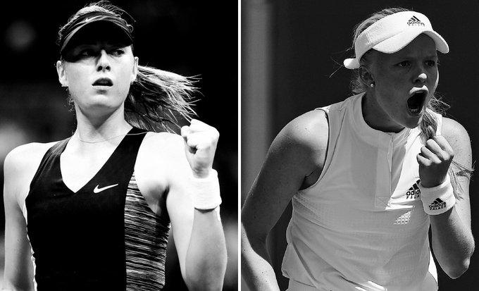 Rod Laver Arena: The 2008 @AustralianOpen champion Maria Sharapova will kick things off against qualifier Harriet 📸: #USOpen Photo
