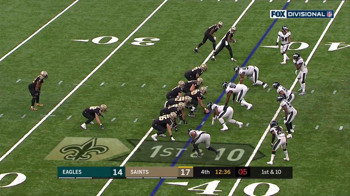 .@MarkIngram22 breaks through for 36 yards! #HomeInTheDome  #NFLPlayoffs  📺: #PHIvsNO on FOX