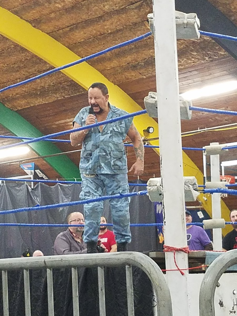 Mick Foley, Bushwacker Luke, and The Patriot were all in Ohio for the WBW show #WBW #WrestlingCommunity #WWE https://t.co/jQI41igZJr