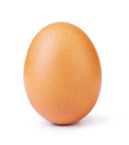 UPDATED: Egg photo cracks Instagram world record, beating Kylie Jenner for most likes Photo