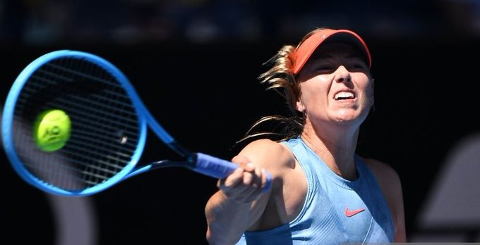 Despite hitting seven double faults, Maria Sharapova starts her 2019 #AusOpen with a 6-0, 6-0 win over Harriet Dart. Masha was very solid actuallly. A nightmare for the young qualifier. [getty] Photo