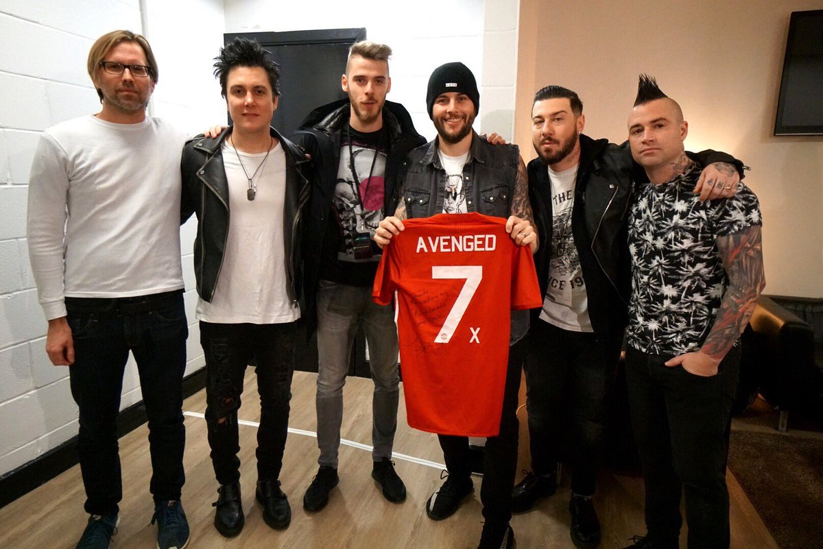Avenged Sevenfold At Theofficiala7x Twitter
