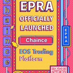 Image for the Tweet beginning: EPRA Officially Launched Chaince 🆙  The
