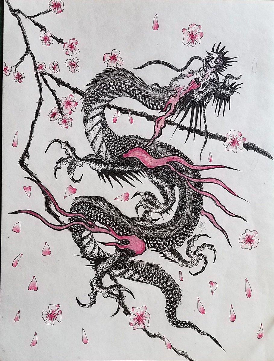 этот драконы и сакура картинки чем через час