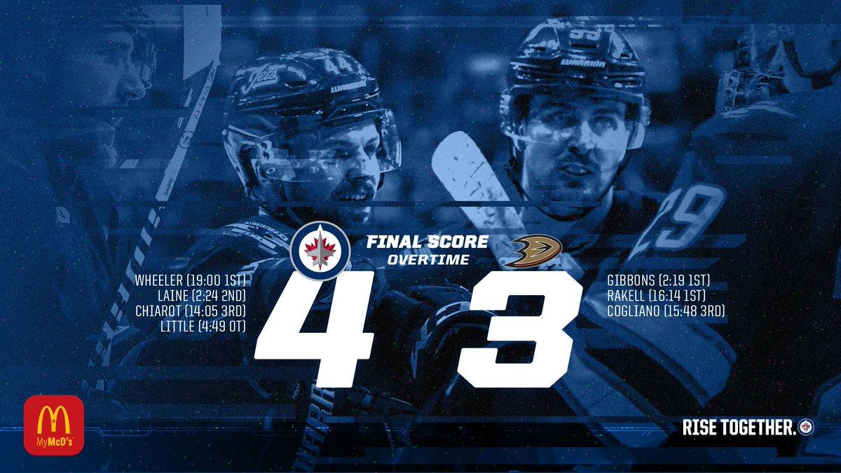 Winnipeg Jets's photo on The Ducks