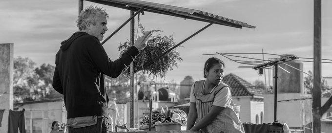 Viva México! Alfonso Cuaron leva como melhor diretor por Roma! #CriticsChoiceAwards Foto