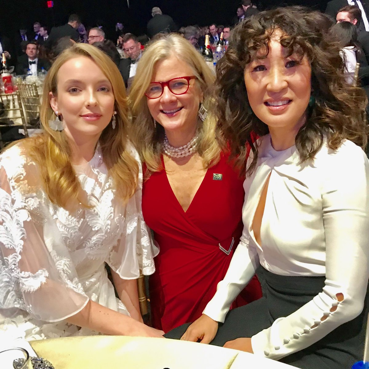 Critics ChoiceAwards with Jody Comer and best Actress winner Sandra Oh from Killing Eve. Tune in at 7:00 https://t.co/kAgfBgwfBn