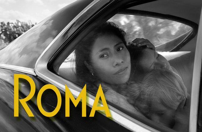 ¡#RomaCuarón acaba de hacer HISTORIA! A pesar de no ser hablada en inglés, se llevó el premio a MEJOR PELÍCULA en los #CriticsChoiceAwards Foto