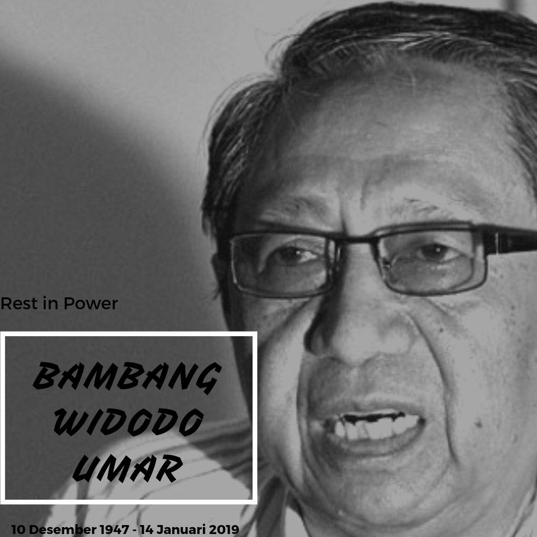 Bambang Widodo Umar, Sang Penggagal Pembajakan Pesawat MNA Berpulang