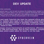 Image for the Tweet beginning: Check out our latest dev