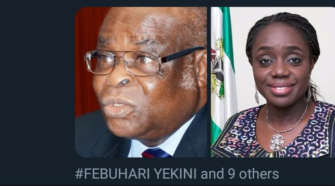 Sambo Dasuki, ex-NSA was arrested &amp; detained for months.  Kemi Adeosun former Minister of Finance was forced to RESIGN for presenting fake certificate.  CJN was busted by NGO &amp; SOUTH- SOUTH leaders came out to defend him.  Do you think the NORTH WEST &amp; SOUTH WEST dont have mouth? <br>http://pic.twitter.com/TFKzz13W54