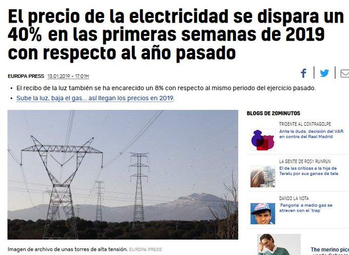 No os preocupéis, que desenterrar a Franco abaratá el precio de la luz ¿Donde quedó la emergencia social de Pablo Iglesias y sus declaraciones de nacionalizar las eléctricas? #FelizLunes #FelizSemana Foto