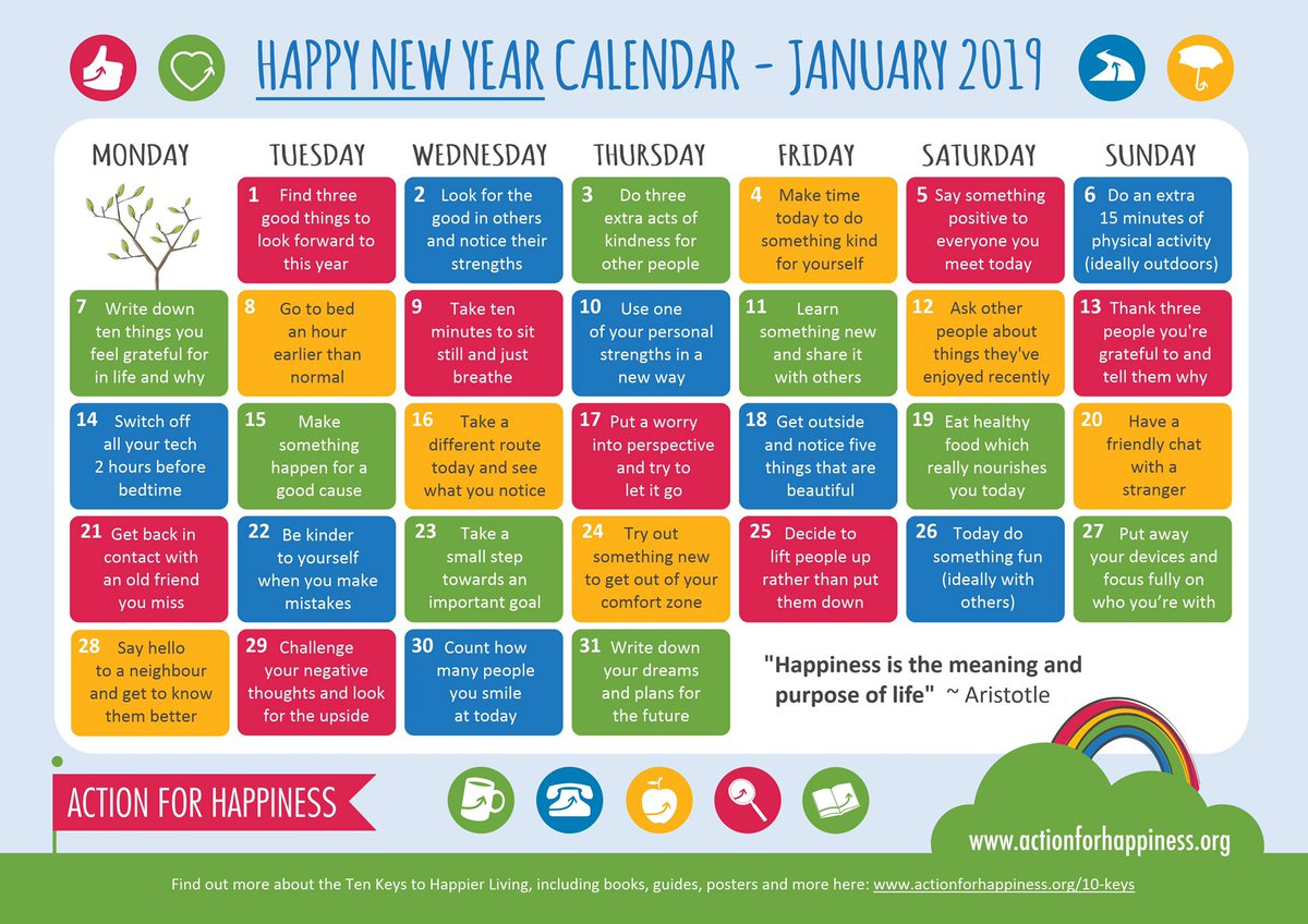 Happy January - Day 14: Switch off all your tech 2 hours before bedtime 📴🛌 http://www.actionforhappiness.org/happy-new-year #HappyJanuary