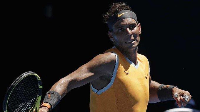 #AustralianOpen: @RafaelNadal, @MariaSharapova blaze through to the second round Photo