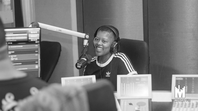 We're hanging out with The Sports Journalist of Year 2018 the Gorgeous @MotshidisiM #FreshBreakfast #WhatAreYouPacking Photo