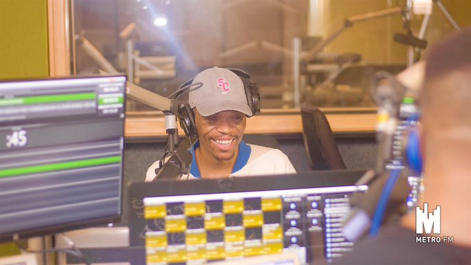 We have the Somizi ✨ in the building so best believe this is The Freshest Breakfast show in the land ‼️🔥 #FreshBreakfast Photo