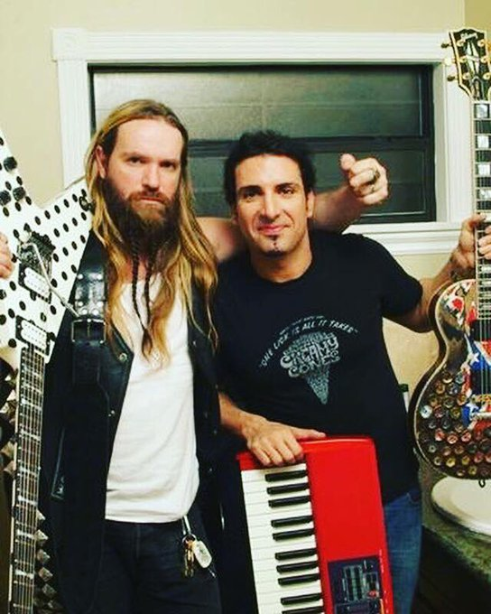 Happy Birthday to my brother of 30 years Zakk Wylde!
