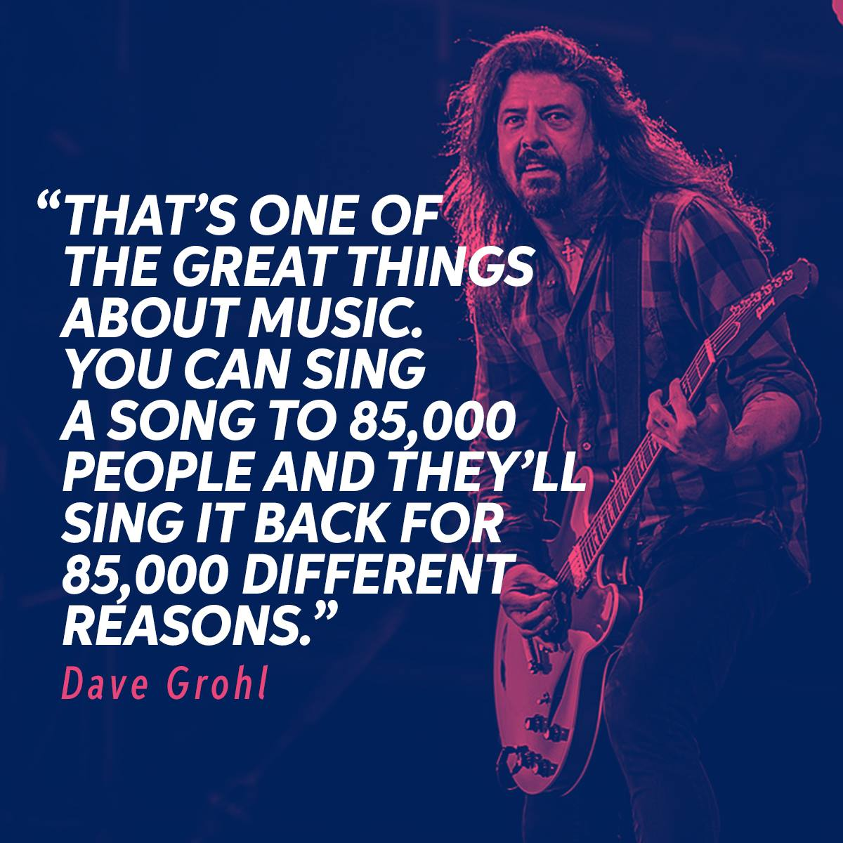 Happy Birthday to the always inspirational front-man, Dave Grohl!