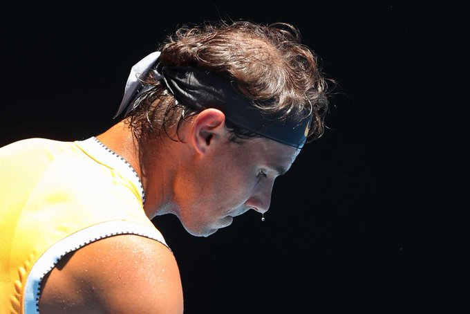 Rafael Nadal ignored his injury troubles to move through to the #AustralianOpen2019 second round, while Maria Sharapova also advanced: (Pic: AAP) Photo