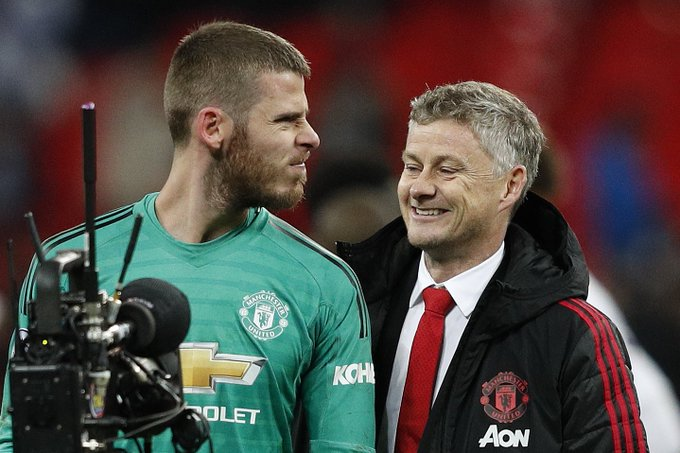 #PremierLeague This is the real Manchester United: David De Gea says Ole Gunnar Solskjaer has restored happiness Photo
