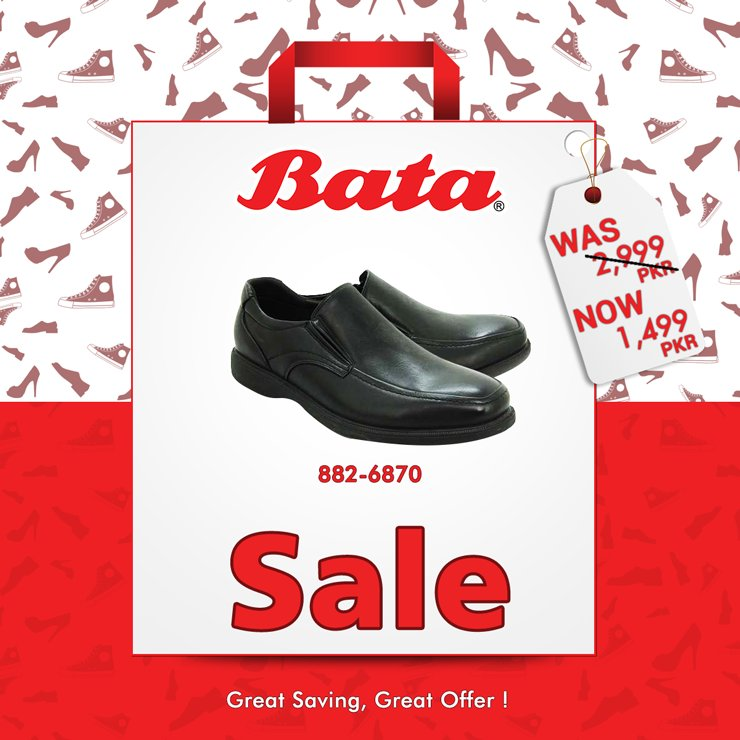 sale on bata shoes 2019