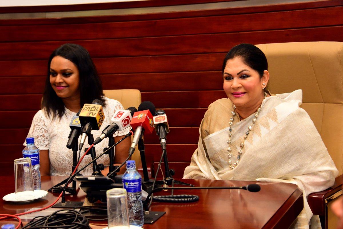 "Rosy Senanayake on Twitter: ""The first female deputy mayor of Oslo, Kamzy  Gunaratnam paid a courtesy visit. #RosySenanayake #Colombo #SriLanka #lka…  https://t.co/RYQz0tGosm"""