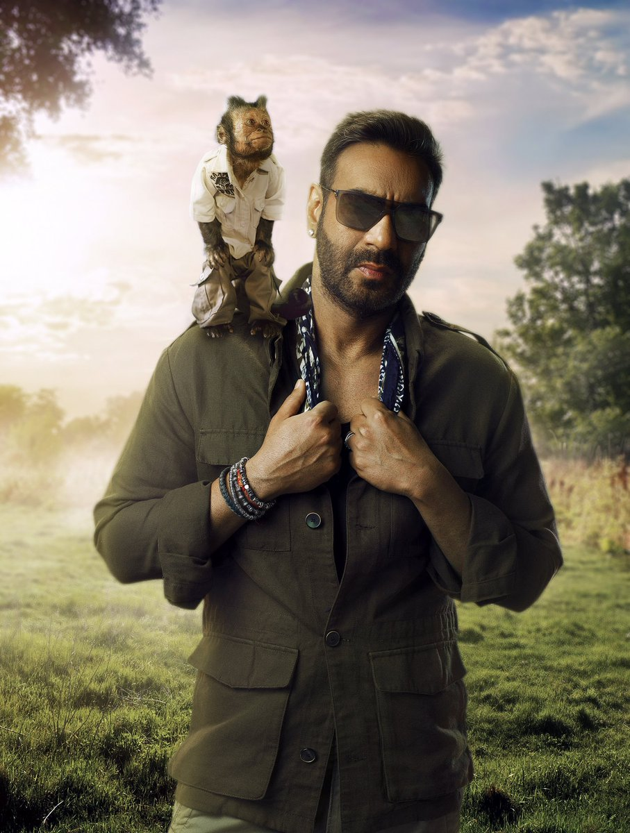 After winning hearts in Hollywood, Crystal is all set to make her Bollywood debut in #TotalDhamaal. Stay tuned, trailer out soon. @ajaydevgn @foxstarhindi @ADFFilms