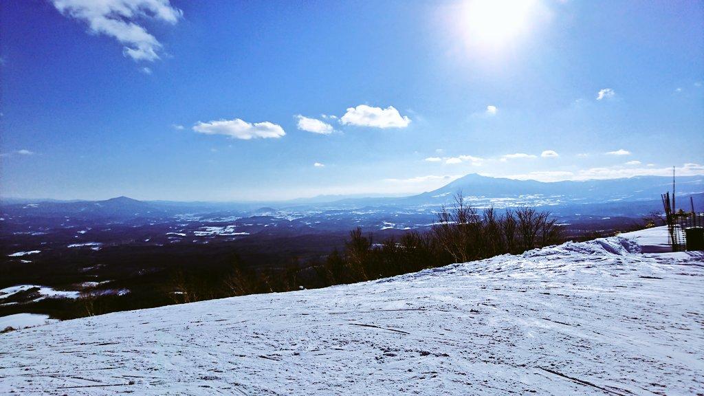 スキー 場 奥 天気 高原 中山