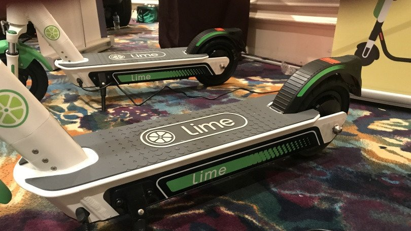 Here's your first look at Lime's third-gen electric scooter: https://t.co/R5m4a6LYYg #CES