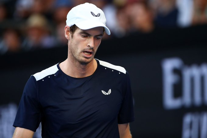 Andy Murray drops first set to Bautista Agut 4-6. #AusOpen Photo