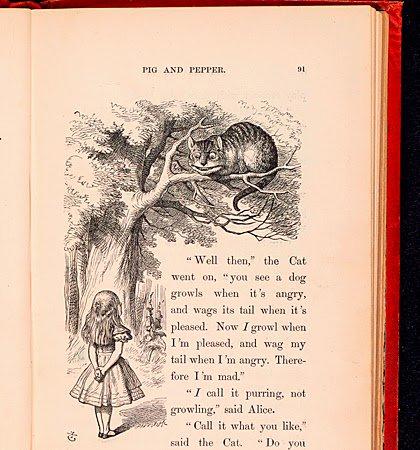 """#14gennaio 1898, moriva Lewis Carroll, autore di Alice nel paese delle meraviglie. """"Sapeva che sarebbe stato sufficiente aprire gli occhi per tornare alla sbiadita realtà senza fantasia degli adulti."""" @diconodioggi Foto"""