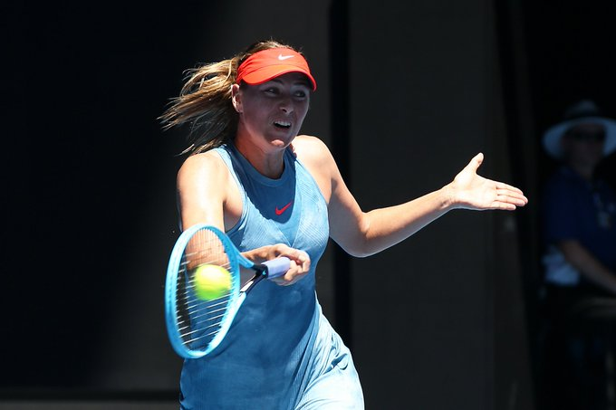 Maria Sharapova's grunting distracts Aussies on outside courts Photo