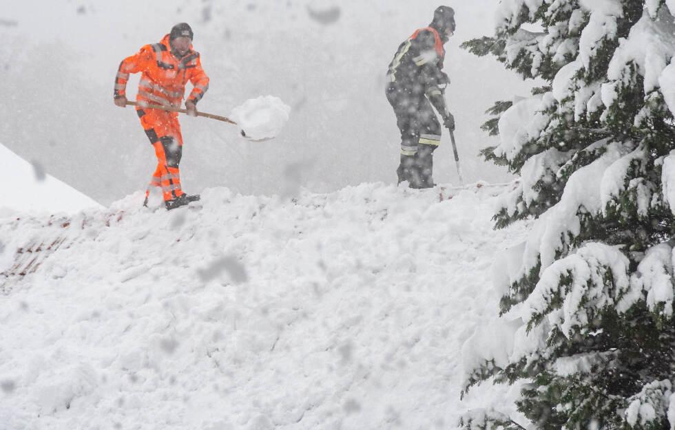 wetter bayern schnee