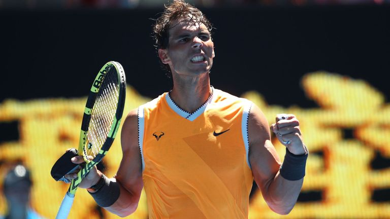 Sky Sports Tennis's photo on Rafael Nadal