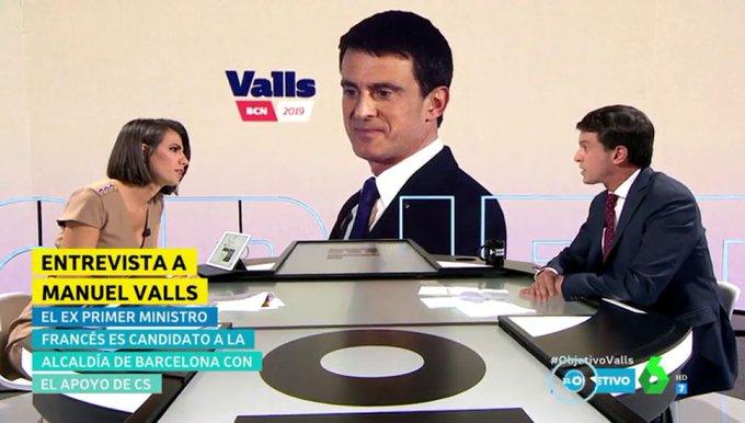 #Audiencias @ObjetivoLaSexta de Ana Pastor consigue reunir a espectadores (5,9%), siendo una de las emisiones más vistas de @laSextaTV en el Fin de Semana #ObjetivoValls Foto