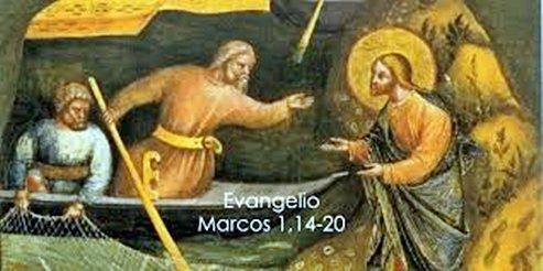 """..El Santo Evangelio del Día, comentado """"Se ha cumplido el tiempo y el Reino de Dios ya está cerca"""" 14 Enero Foto"""