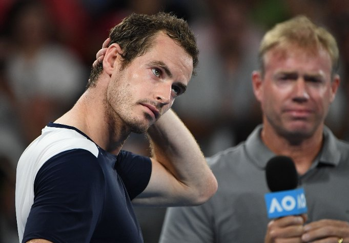 Andy Murray fights back the tears in emotional on-court interview after Australian Open exit https://t.co/RcXgtexK6h
