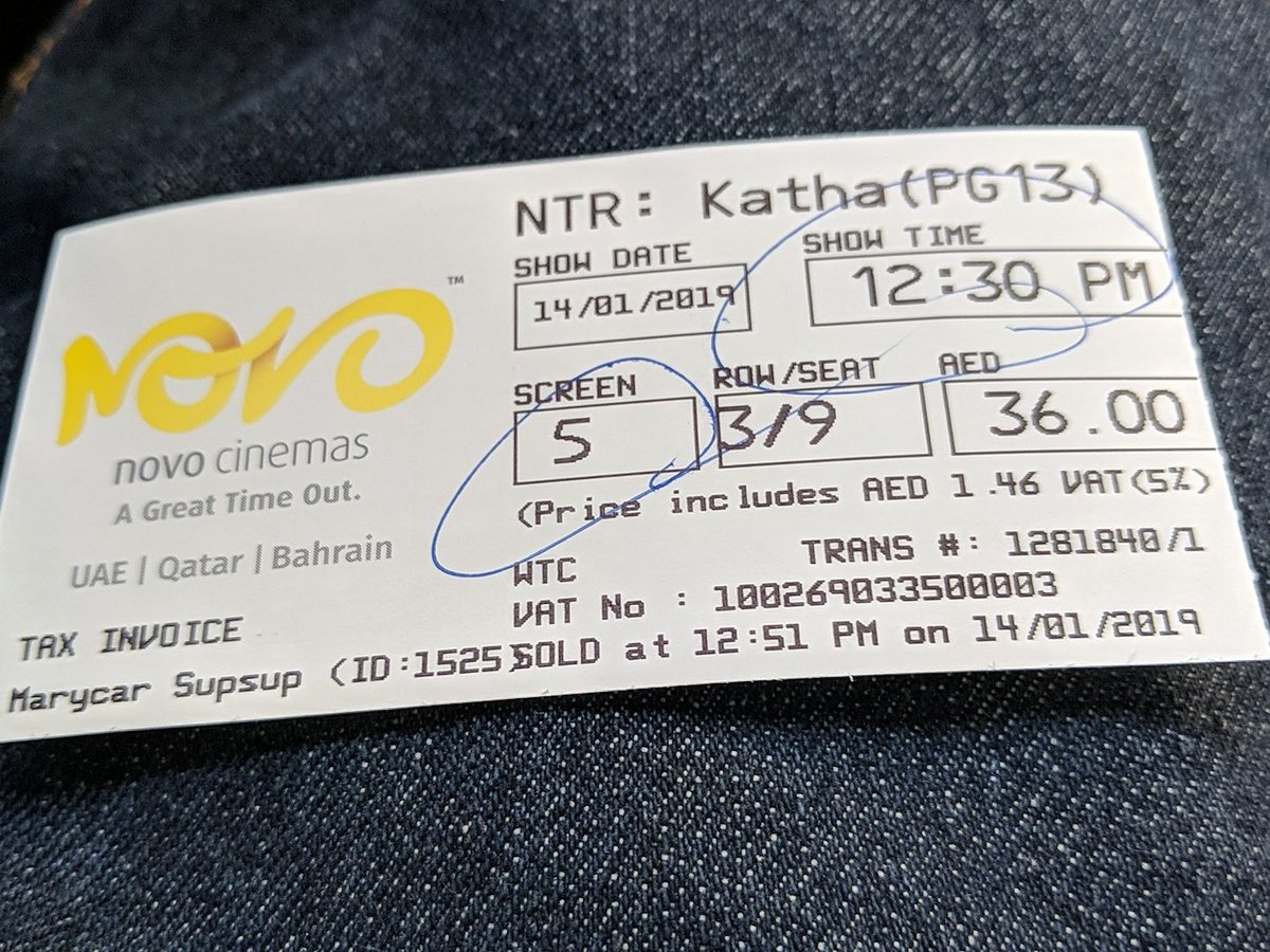 This movie #NTRKathaNayaKudu is not just a film, it&#39;s a lesson to all on how everyone had to be towards their respective professions, on how a wife n husband relationship should be @DirKrish take bow sir  @vidya_balan in  with Ur acting @NBKFilms_ #Balakrishnagaru Thank u<br>http://pic.twitter.com/vF2eLa01IO
