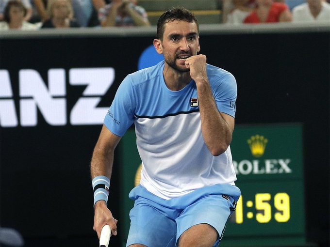 #AusOpen @AustralianOpen: Sixth seed @cilic_marin eases past Bernard Tomic Read: Photo