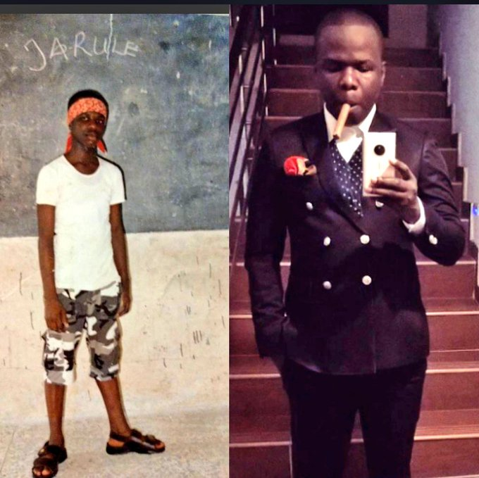From Jarule to James St Patrick #10YearChallenge If you dare laugh thunder go fire you Photo