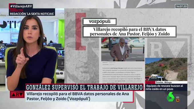 🔴Ana Pastor, Feijóo y Zoido, entre los espiados por #VillarejosARV.➡ Foto