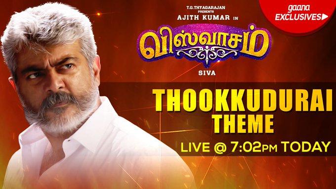 #ThookkuduraiTheme Today pm 😎 #மக்கள்வெள்ளத்தில்விஸ்வாசம் Photo