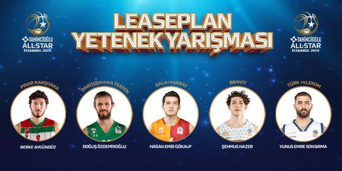 #TahinciogluAllStar2019 smaç yarışması ve yetenek yarışmasında yer alacak oyuncular açıklandı. Fotoğraf