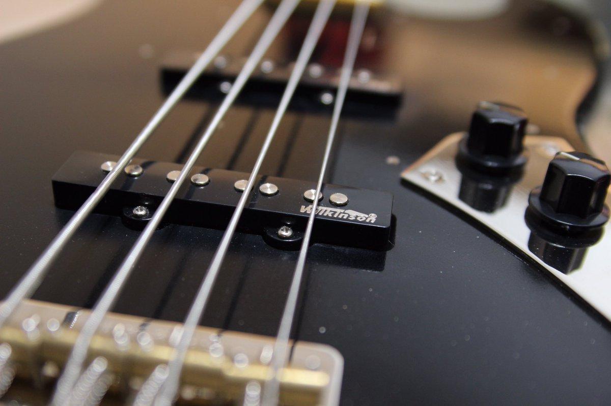 Just got a new bass! #vintage #wilkinsonpickups #vintagebass #vintageicon #bassist #bassplayer #4string #jazzbass