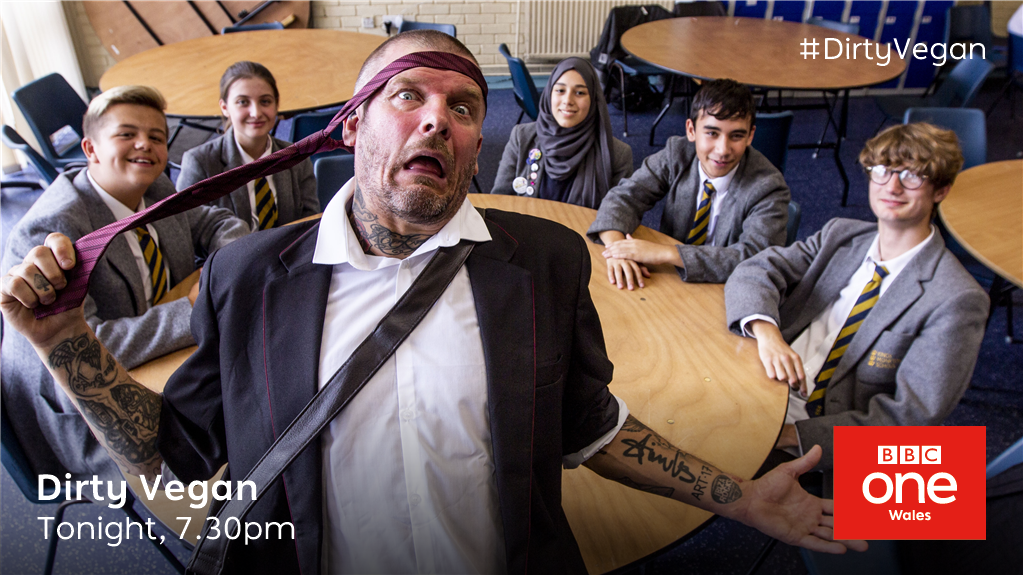 Can @pritchardswyd get an A* with his vegan fried breakfast?   #DirtyVegan 📺Tonight, 7.30pm @BBCOne Wales