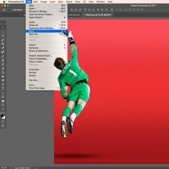 I always have peace of mind knowing that De Gea is always on hand to SAVE my progress #DaveSaves Photo