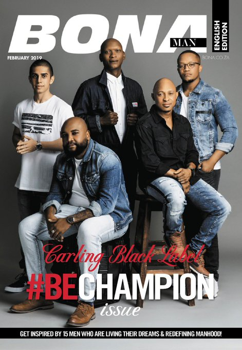 Also on the cover of #BECHAMPION edition Benedict Tso Vilakazi: Former Bafana Bafana soccer player, owner of Star academy and newly qualified coach. Star Academy aims to take young soccer players from the streets to professional fields. We salute you Tso 🙏 Photo